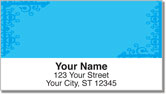 Corner Scroll Address Labels
