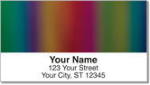Rainbow Wave Address Labels