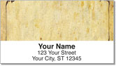 Aged Parchment Address Labels