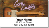 Gone Country Address Labels