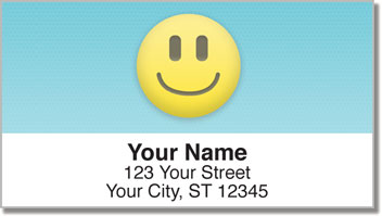 Emoticon Address Labels