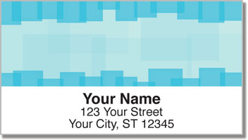 Squaresville Address Labels