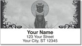 Kitty Noir Address Labels