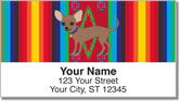 Chihuahua Address Labels