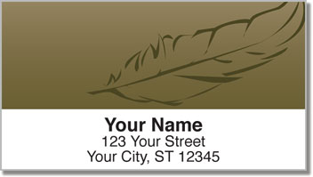 Feather Address Labels