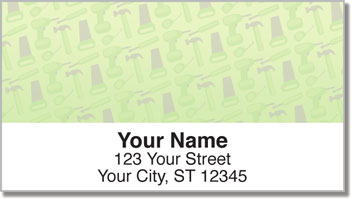 Tool Time Address Labels
