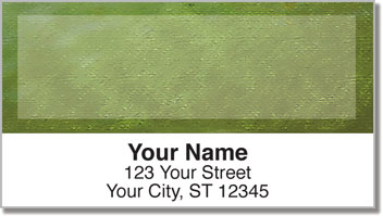 Burlap Address Labels