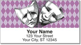 Drama Mask Address Labels