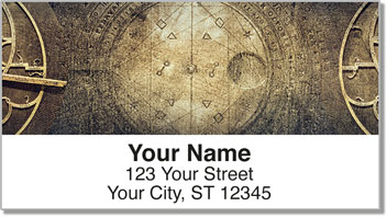 Steampunk Address Labels