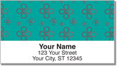 Simple Petal Address Labels