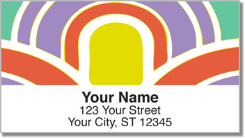 Bold Aura Address Labels