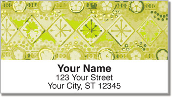 Vintage Pattern Address Labels