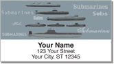 Submarine Address Labels