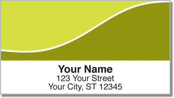 Graceful Line Address Labels