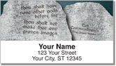 Ten Commandments Address Labels