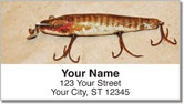 Antique Lure Address Labels
