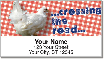 Chatty Chicken Address Labels