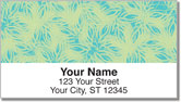 Petal Print Address Labels