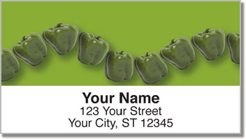 Pepper String Address Labels