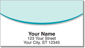 Oval Line Address Labels