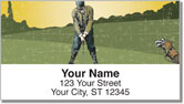 Vintage Golf Address Labels