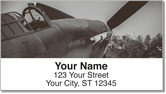Vintage WWII Aircraft Address Labels