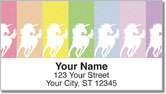 Proud Unicorn Address Labels