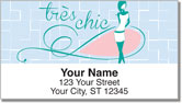 Paris Fun Address Labels