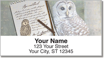 Audubon Sketch Address Labels