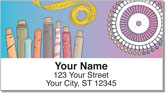 Sewing Notion Address Labels