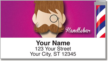 Mustache Address Labels