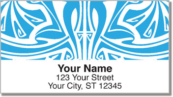 Art Nouveau Pattern Address Labels