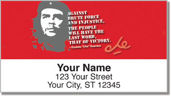 Che Guevara Address Labels