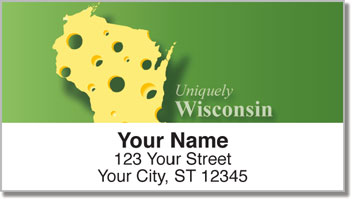 Uniquely Wisconsin Address Labels