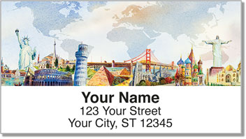 Flight Attendant Address Labels