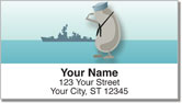 Cartoon Kidney Bean Address Labels