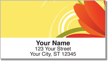 Petal Power Address Labels