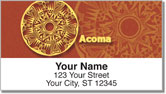 Southwest Pottery Design Address Labels