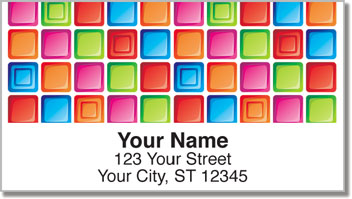Splendid Square Address Labels