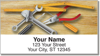 Hand Tool Address Labels