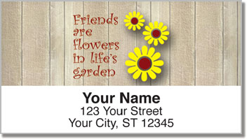 Friends Are... Address Labels