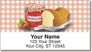 Fruit Jam Address Labels
