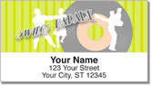 Swing Dancing Address Labels