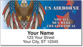 U.S. Airborne Address Labels