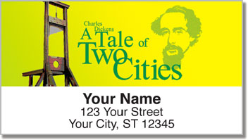Charles Dickens Address Labels