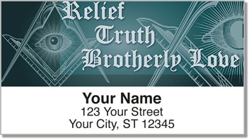 Freemason Address Labels