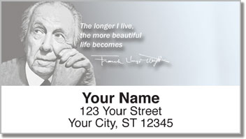 Frank Lloyd Wright Address Labels