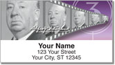 Alfred Hitchcock Address Labels