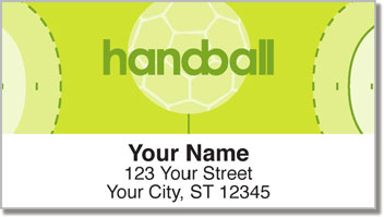 Handball Address Labels