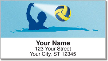 Water Polo Address Labels
